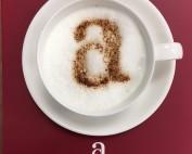 Coffe cup logo. Pension