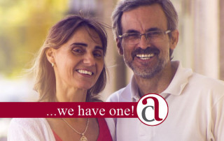 adult couple who have financial planning