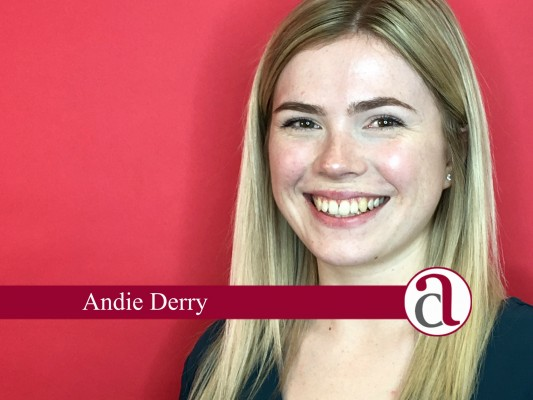 financial services member Andie