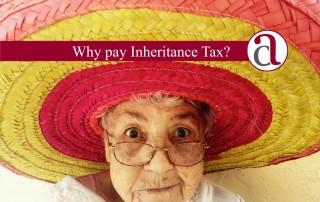 inheritance tax saving woman