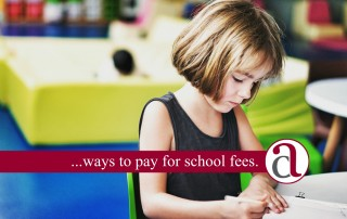 paying by school fees