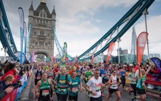 Chartered Financial Planner running Marathon
