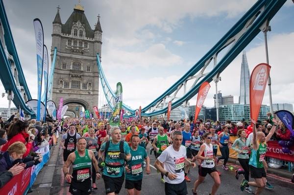 Chartered Financial Planner running Marathon