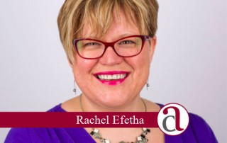 A head shot of Rachel Efetha taking about if you can afford to retire