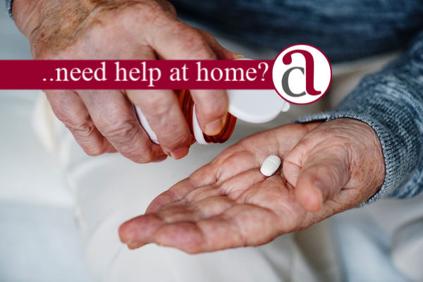 Home care costs with tablet