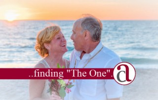 couple on beach who have remarried