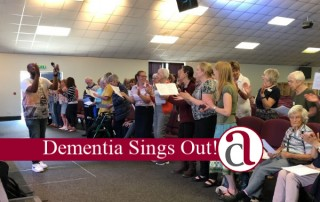 Wellingborough Choir singing