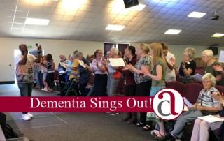 Wellingborough Choir singing