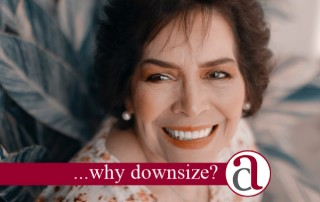 woman downsizing