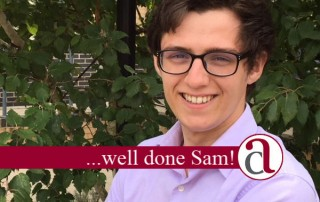 congratulations to Sam Williams