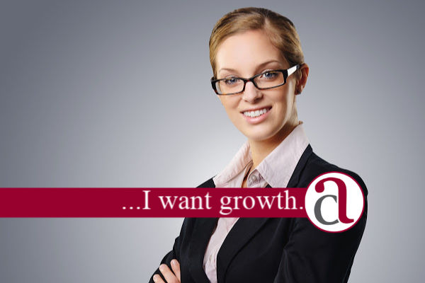 business woman investing