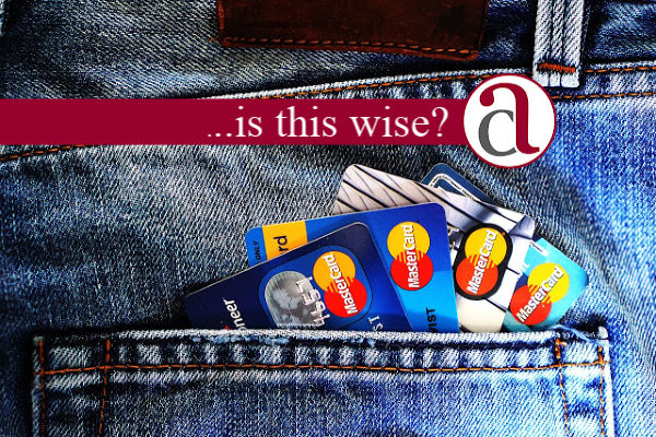 credit cards used for credit score