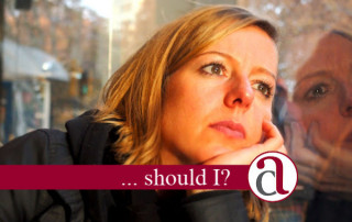 woman thinking about accessing her pension early
