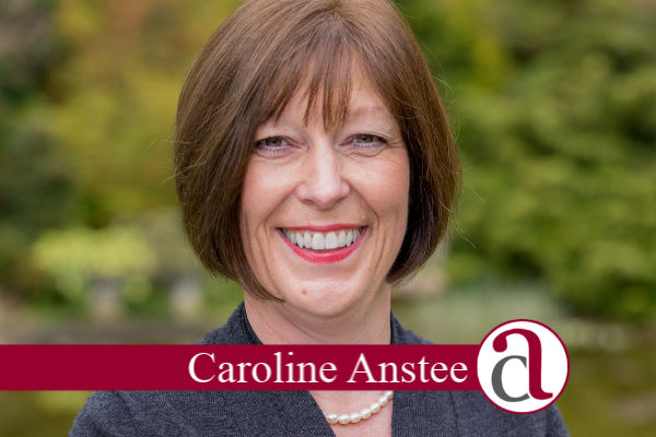 Caroloine Anstee personal message