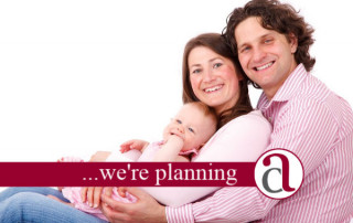 Young family thinking about Financial Planning