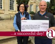 Charity Golf Day presentation